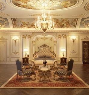 Nội thất lâu đài - cung điện